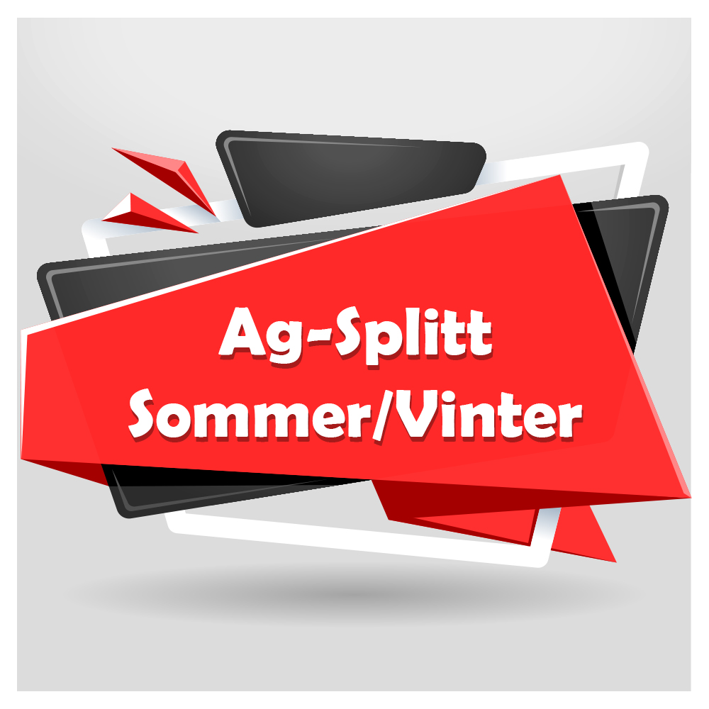 Ag-Splitt Sommer/Vinter